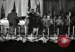 Image of Count Basie and Orchestra at Paul Robeson birthday party New York City, 1944, second 14 stock footage video 65675032041