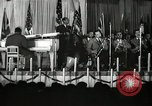 Image of Count Basie and Orchestra at Paul Robeson birthday party New York City, 1944, second 15 stock footage video 65675032041