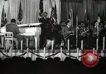 Image of Count Basie and Orchestra at Paul Robeson birthday party New York City, 1944, second 17 stock footage video 65675032041