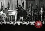 Image of Count Basie and Orchestra at Paul Robeson birthday party New York City, 1944, second 18 stock footage video 65675032041
