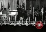Image of Count Basie and Orchestra at Paul Robeson birthday party New York City, 1944, second 19 stock footage video 65675032041