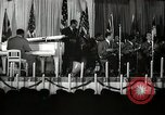 Image of Count Basie and Orchestra at Paul Robeson birthday party New York City, 1944, second 20 stock footage video 65675032041
