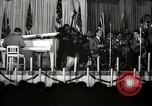 Image of Count Basie and Orchestra at Paul Robeson birthday party New York City USA, 1944, second 30 stock footage video 65675032041
