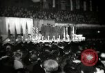 Image of The 372nd Infantry Glee club of African American soldiers New York City USA, 1944, second 1 stock footage video 65675032042
