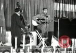 Image of Joshua Daniel White sings at Paul Robeson event New York City USA, 1944, second 1 stock footage video 65675032043