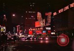 Image of people and buildings Manhattan New York City USA, 1976, second 10 stock footage video 65675032058