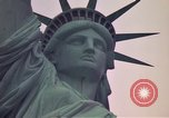 Image of Statue of Liberty wide and closeup views New York United States USA, 1976, second 4 stock footage video 65675032062