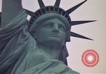 Image of Statue of Liberty wide and closeup views New York United States USA, 1976, second 6 stock footage video 65675032062