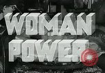 Image of Woman Power United States USA, 1942, second 11 stock footage video 65675032087