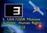 Image of Moscow Summit on Human Rights Moscow Russia Soviet Union, 1988, second 4 stock footage video 65675032117