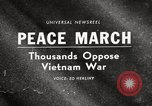 Image of antiwar protests United States USA, 1967, second 1 stock footage video 65675032122
