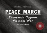Image of antiwar protests United States USA, 1967, second 4 stock footage video 65675032122