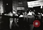 Image of antiwar protests Via Veneto Rome, 1967, second 1 stock footage video 65675032123