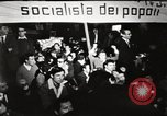 Image of antiwar protests Via Veneto Rome, 1967, second 8 stock footage video 65675032123