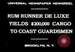 Image of rum running scandal Brooklyn New York City USA, 1930, second 3 stock footage video 65675032145