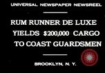 Image of rum running scandal Brooklyn New York City USA, 1930, second 6 stock footage video 65675032145