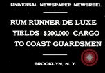 Image of rum running scandal Brooklyn New York City USA, 1930, second 7 stock footage video 65675032145
