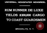 Image of rum running scandal Brooklyn New York City USA, 1930, second 10 stock footage video 65675032145