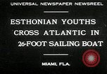 Image of Esthonian sailors Miami Florida USA, 1930, second 1 stock footage video 65675032146