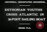 Image of Esthonian sailors Miami Florida USA, 1930, second 2 stock footage video 65675032146