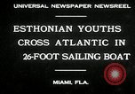 Image of Esthonian sailors Miami Florida USA, 1930, second 4 stock footage video 65675032146
