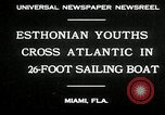 Image of Esthonian sailors Miami Florida USA, 1930, second 5 stock footage video 65675032146