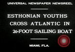 Image of Esthonian sailors Miami Florida USA, 1930, second 6 stock footage video 65675032146