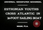 Image of Esthonian sailors Miami Florida USA, 1930, second 7 stock footage video 65675032146