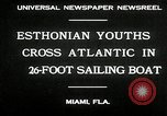 Image of Esthonian sailors Miami Florida USA, 1930, second 8 stock footage video 65675032146