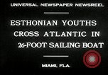 Image of Esthonian sailors Miami Florida USA, 1930, second 10 stock footage video 65675032146