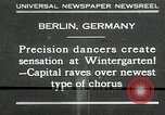 Image of dancers perform Berlin Germany, 1930, second 1 stock footage video 65675032149