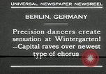 Image of dancers perform Berlin Germany, 1930, second 5 stock footage video 65675032149