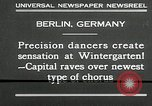 Image of dancers perform Berlin Germany, 1930, second 8 stock footage video 65675032149