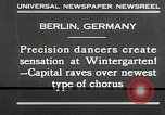 Image of dancers perform Berlin Germany, 1930, second 9 stock footage video 65675032149