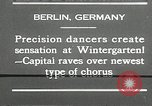 Image of dancers perform Berlin Germany, 1930, second 12 stock footage video 65675032149