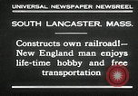 Image of railroad model South Lancaster Massachusetts USA, 1930, second 8 stock footage video 65675032150
