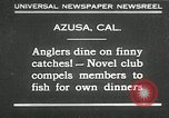 Image of fishing Azusa California USA, 1930, second 1 stock footage video 65675032151