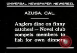 Image of fishing Azusa California USA, 1930, second 2 stock footage video 65675032151