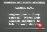 Image of fishing Azusa California USA, 1930, second 4 stock footage video 65675032151