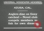 Image of fishing Azusa California USA, 1930, second 6 stock footage video 65675032151