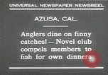 Image of fishing Azusa California USA, 1930, second 7 stock footage video 65675032151