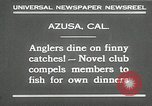 Image of fishing Azusa California USA, 1930, second 8 stock footage video 65675032151