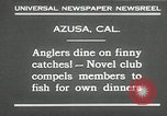 Image of fishing Azusa California USA, 1930, second 11 stock footage video 65675032151