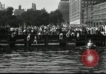 Image of marathon swim New York United States USA, 1930, second 4 stock footage video 65675032155