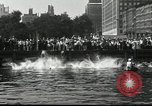 Image of marathon swim New York United States USA, 1930, second 5 stock footage video 65675032155