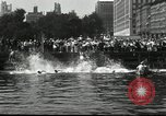 Image of marathon swim New York United States USA, 1930, second 6 stock footage video 65675032155