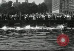 Image of marathon swim New York United States USA, 1930, second 7 stock footage video 65675032155