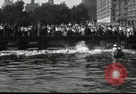 Image of marathon swim New York United States USA, 1930, second 8 stock footage video 65675032155