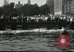 Image of marathon swim New York United States USA, 1930, second 9 stock footage video 65675032155