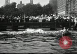 Image of marathon swim New York United States USA, 1930, second 10 stock footage video 65675032155